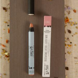 Pinta labios coral Le Papier Matte Liptick Migthy Matte