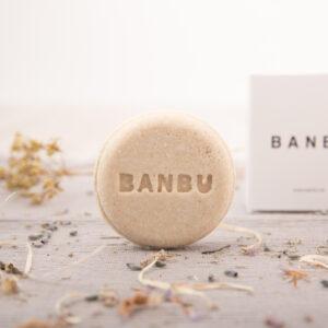 Champú sólido cuero cabelludo normal a seco de Banbu