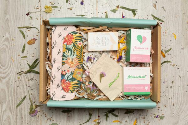 caja regalo mestruación