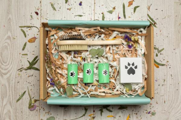 caja regalo amigos perrunos ecosostenibles