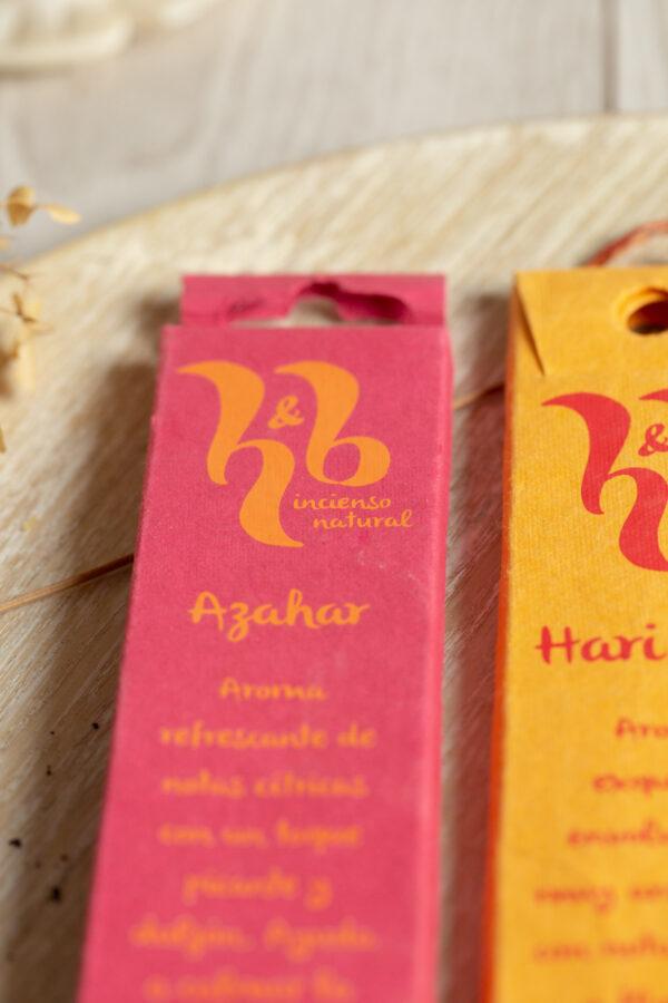 incienso natural H & B Incense