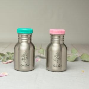 mini botella acero inoxidable