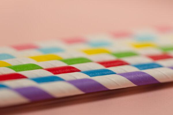 pajitas de papel sostenibles