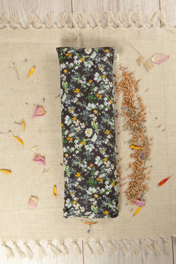 saco termico tela con semillas