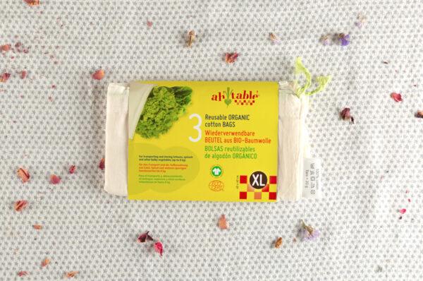 bolsas reutilizables algodon organico