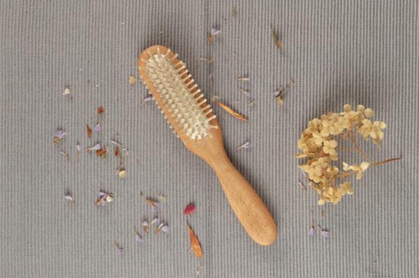 cepillo para cabello cerdas naturales