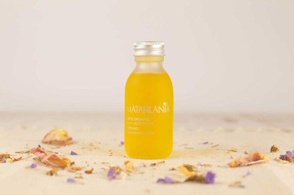 aceite hidratante para bebe y piel sensible bio matarrania
