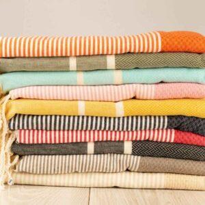 Foutas toalla algodon artesanal bizislow