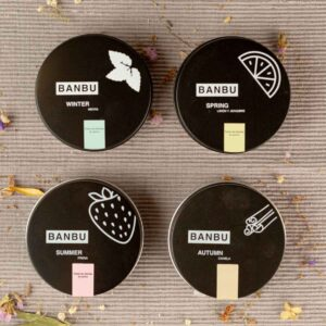 Pasta dental en polvo marca Banbu