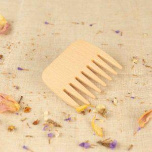 peine de madera pelo rizado de rebecker